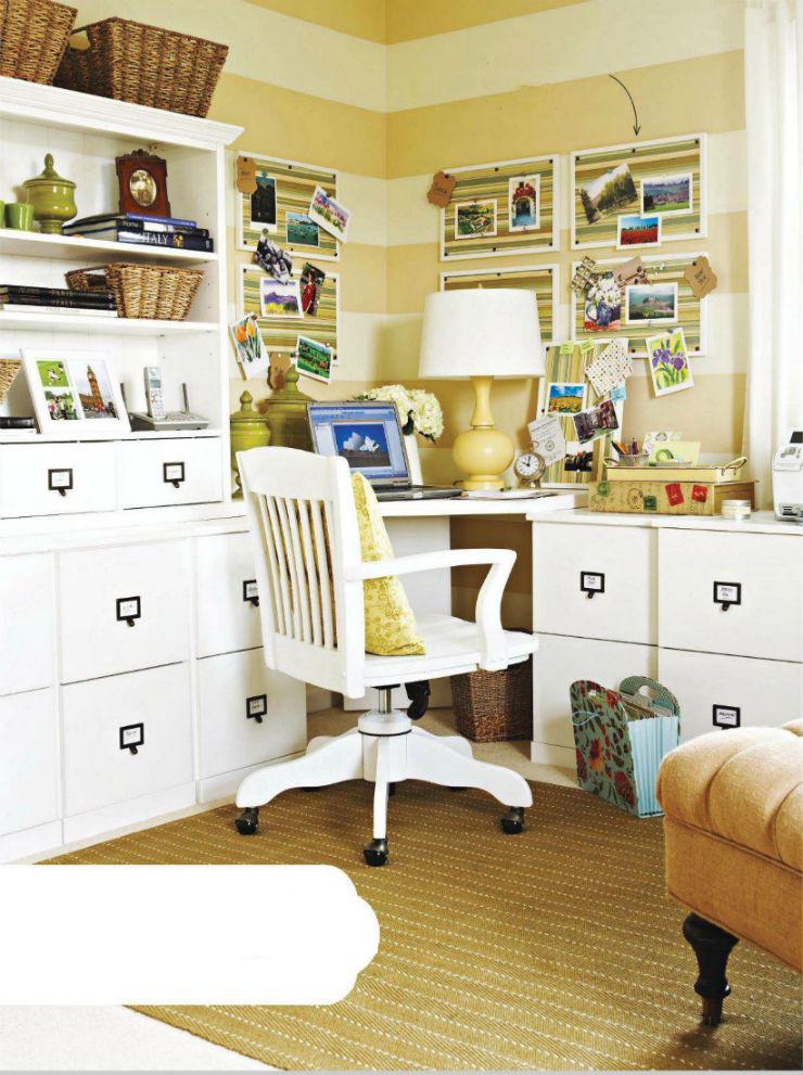 """""""Decoração de escritório""""  Top 10 escritórios para você se sentir inspirado a trabalhar escritorio4"""