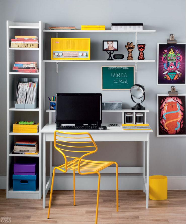 """""""Decoração de escritório""""  Top 10 escritórios para você se sentir inspirado a trabalhar escritorio5"""