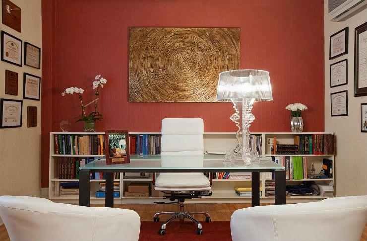 """""""Decoração de escritório""""  Top 10 escritórios para você se sentir inspirado a trabalhar escritorio8"""