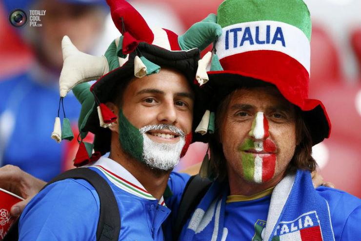 """""""Torcidas na Copa do Mundo 2014""""  As melhores torcidas da Copa do Mundo italia"""