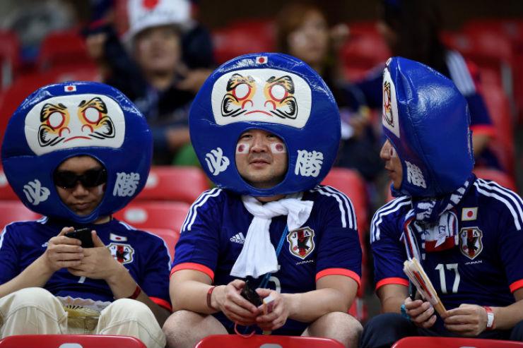 """""""Torcidas na Copa do Mundo 2014""""  As melhores torcidas da Copa do Mundo japao"""
