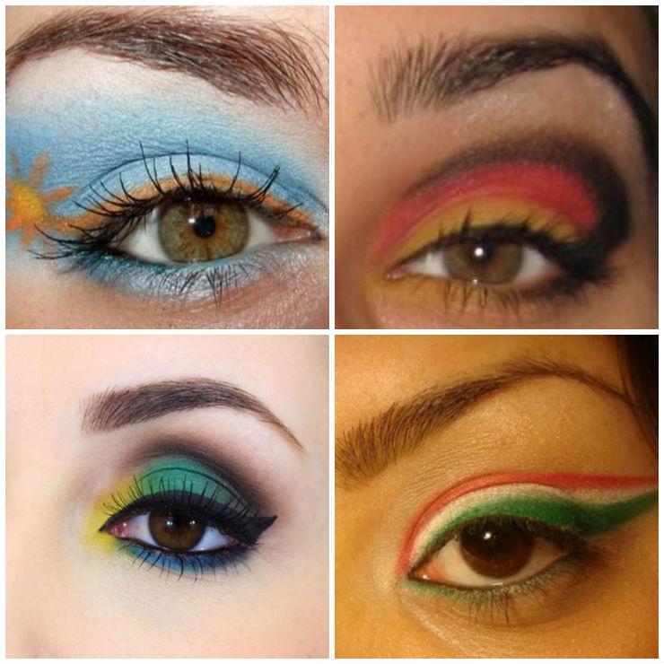 """""""Make up para a Copa""""  Fique deslumbrante para a Copa: as melhores dicas de make makeup"""