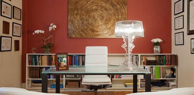 """""""decoração de escritório""""  Top 10 escritórios para você se sentir inspirado a trabalhar marie burgos design park avenue doctors office1200 x 786 187 kb jpeg x 655x320"""