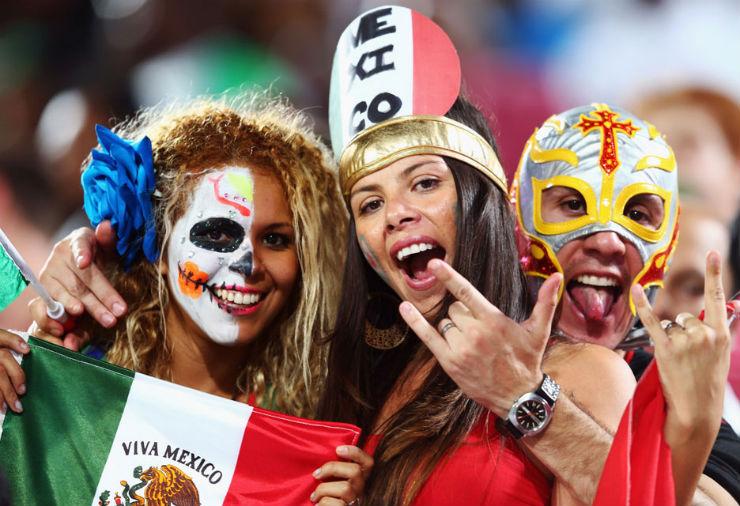 """""""Torcidas na Copa do Mundo 2014""""  As melhores torcidas da Copa do Mundo mexico"""