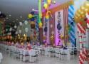 """""""Organização e Decoração de festa infantil""""  Decoração de festa infantil: as dicas que não pode perder palha  o 125x90"""