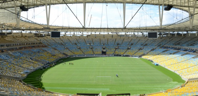 """""""Estádio do Maracanã, final da Copa do Mundo 2014"""""""