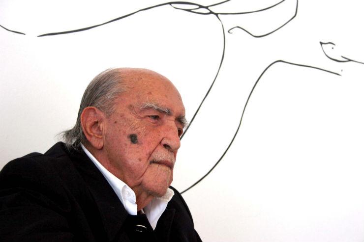 """""""Arte brasileira: 10 nomes a reter""""  A arte brasileira pelo mundo: 10 nomes a reter Oscar Niemeyer1"""