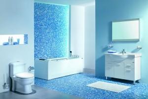 Decoração: Os mais bonitos banheiros em azul