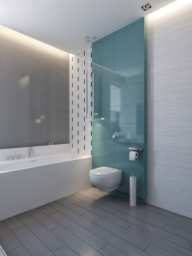 """""""Banheiro em azul""""  Decoração: Os mais bonitos banheiros em azul banheiro em azul10"""