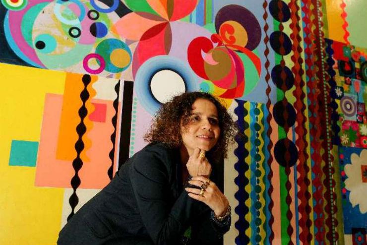 """""""Arte brasileira: 10 nomes a reter""""  A arte brasileira pelo mundo: 10 nomes a reter beatriz milhazes"""