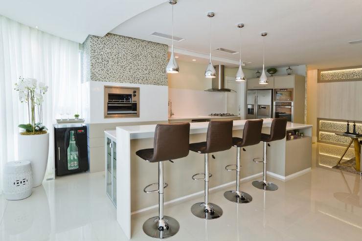 """""""Decoração moderna para apartamento de férias""""  Decoração moderna e funcional para apartamento de férias cobertura moderna3"""