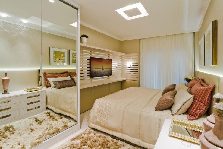 """""""Decoração moderna para apartamento de férias""""  Decoração moderna e funcional para apartamento de férias cobertura moderna7"""