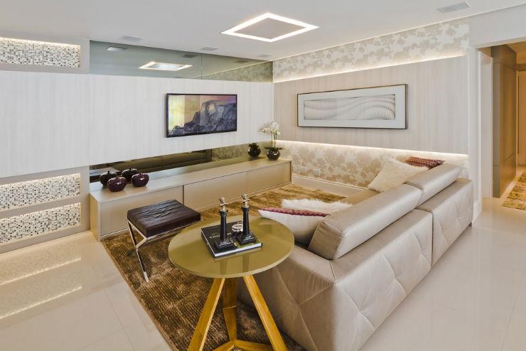 """""""Decoração moderna para apartamento de férias""""  Decoração moderna e funcional para apartamento de férias cobertura moderna8"""