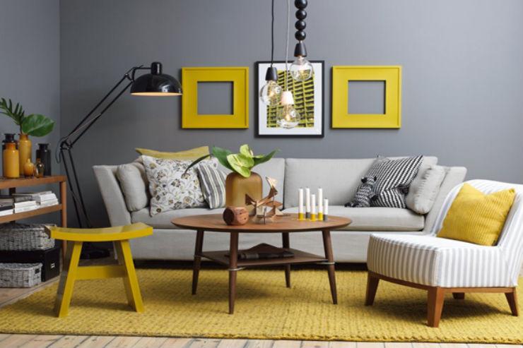 """""""Sala de estar em tons de cinza""""  Decoração: Salas de estar em tons cinza decoracao casa cinza2"""