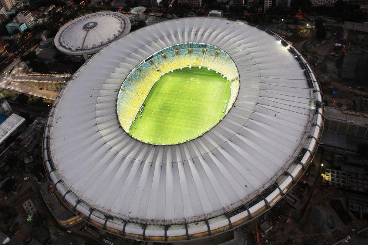 """Estádio do Maracanã, final da Copa do Mundo 2014""  Maracanã: o estádio que recebe a final da Copa do Mundo 2014 marcacana1"