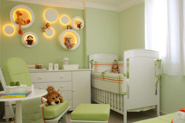 """""""Como decorar o quarto de um bebé""""  Como decorar o quarto de bebé quarto de beb   verde1"""