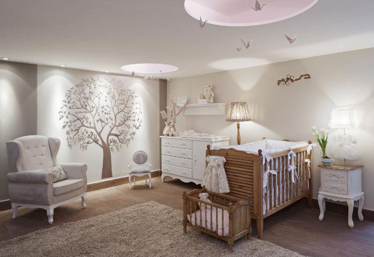"""""""Como decorar o quarto de um bebé""""  Como decorar o quarto de bebé quarto do bebe madeira"""