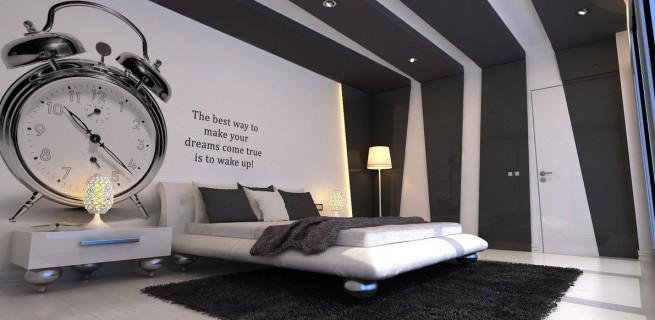 50 tons de cinza: decor do quarto inspirada no filme