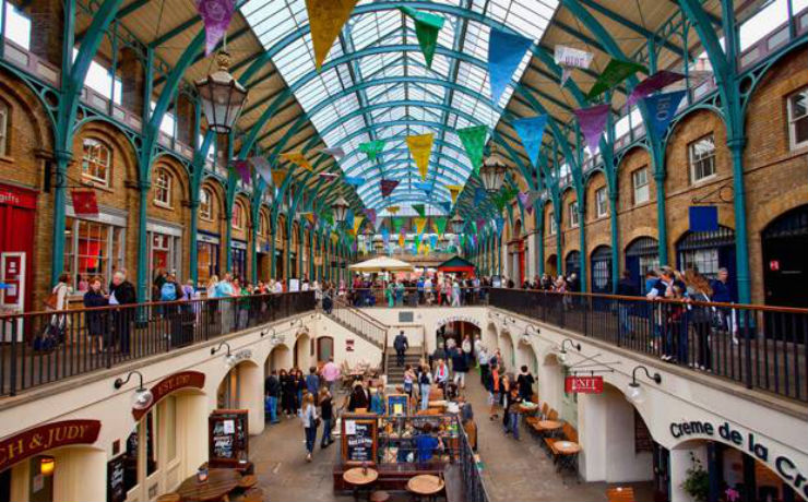 """""""Londres: o que ver em Setembro""""  Londres em Setembro: o que ver coventgarden"""