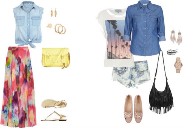 """""""o que vestir num luau""""  Moda: 5 estilos para ir a um luau luau look3"""