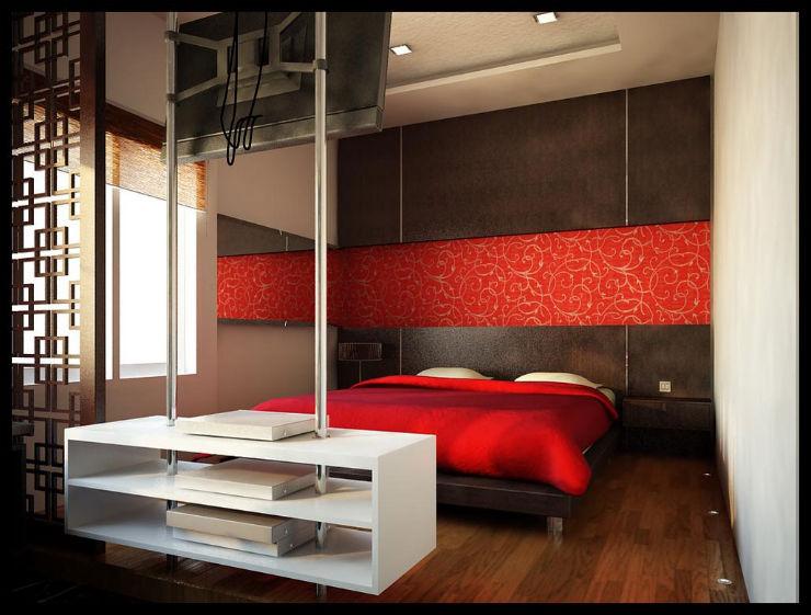 """50 tons de cinza: decor inspirada no filme""  50 tons de cinza: decor do quarto inspirada no filme quarto vermelho1"
