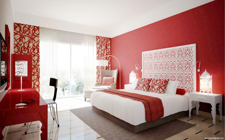 """50 tons de cinza: decor inspirada no filme""  50 tons de cinza: decor do quarto inspirada no filme quarto vermelho3"
