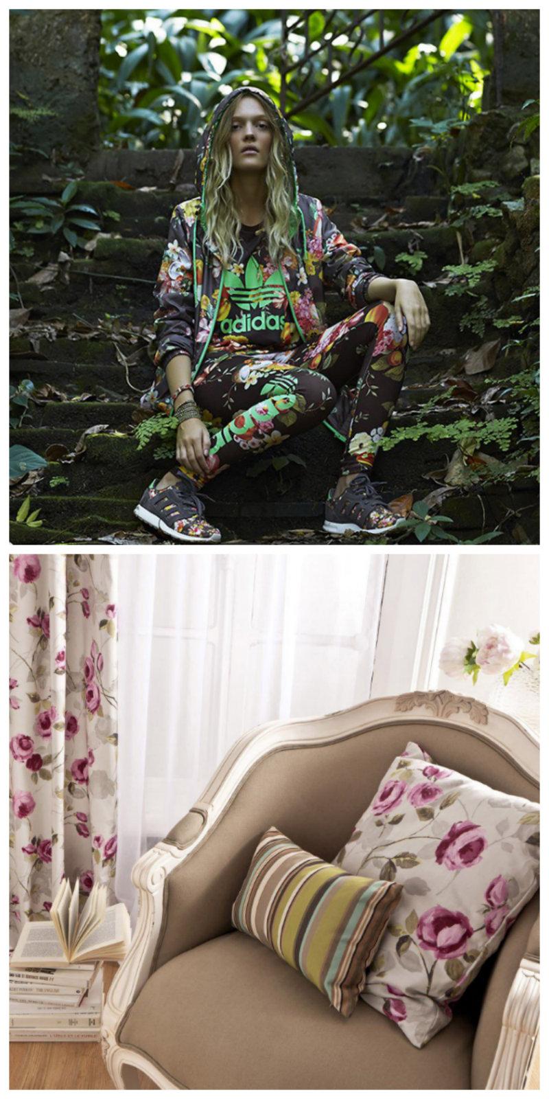 """""""Toque floral na decoração""""  Decoração & Moda: como decorar seguindo as tendências  flores"""