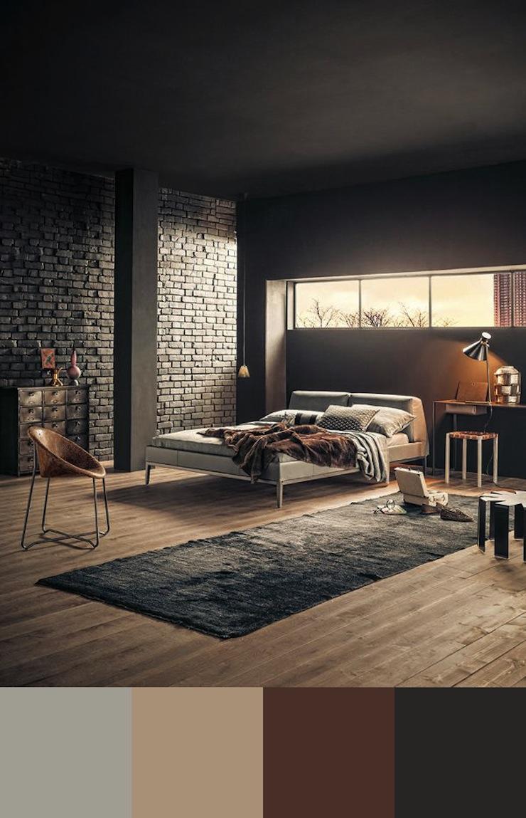 10-esquemas-de-cores-perfeitos-para-decorar-o-seu-quarto-3  Quarto de casal: 10 esquemas de cores perfeitos para decorar 10 esquemas de cores perfeitos para decorar o seu quarto 3