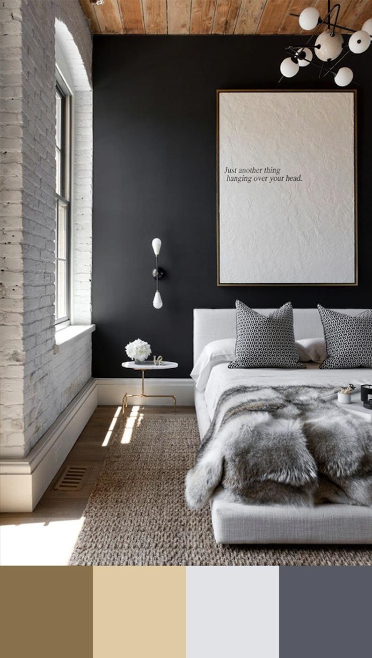 10-esquemas-de-cores-perfeitos-para-decorar-o-seu-quarto-4  Quarto de casal: 10 esquemas de cores perfeitos para decorar 10 esquemas de cores perfeitos para decorar o seu quarto 4