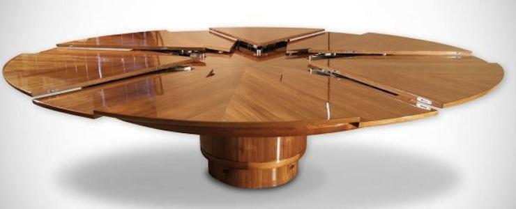 10-moveis-multifuncionais-com-o-melhor-design-que-voce-ja-viu-The-expandable-Capstan-Table-02  10 móveis multifuncionais com o melhor design que você já viu 10 moveis multifuncionais com o melhor design que voce ja viu The expandable Capstan Table 02