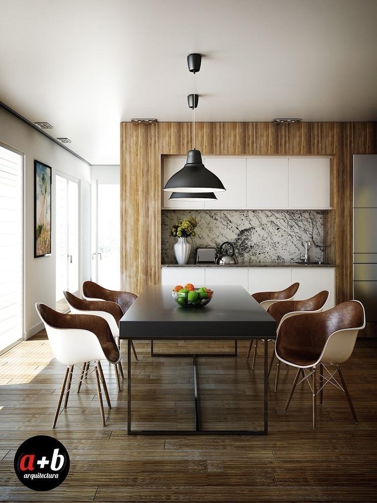 14-imperdivel-24-sugestoes-de-salas-de-jantar-modernas-brown-leather-dining-chairs  IMPERDÍVEL! Confira estas 24 sugestões de Salas de Jantar modernas 14 imperdivel 24 sugestoes de salas de jantar modernas brown leather dining chairs