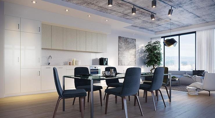 20-imperdivel-24-sugestoes-de-salas-de-jantar-modernas-cement-ceiling  IMPERDÍVEL! Confira estas 24 sugestões de Salas de Jantar modernas 20 imperdivel 24 sugestoes de salas de jantar modernas cement ceiling