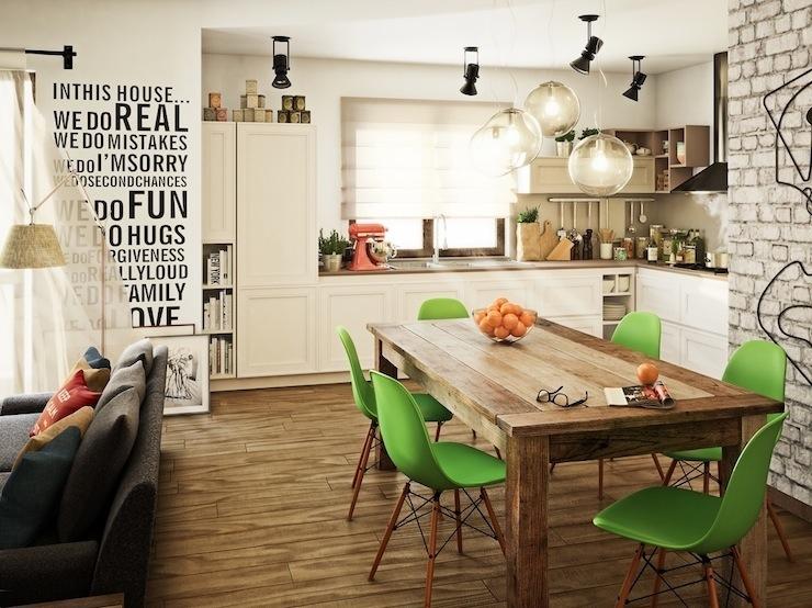 5-imperdivel-24-sugestoes-de-salas-de-jantar-modernas-green-eames-dining-chairs  IMPERDÍVEL! Confira estas 24 sugestões de Salas de Jantar modernas 5 imperdivel 24 sugestoes de salas de jantar modernas green eames dining chairs