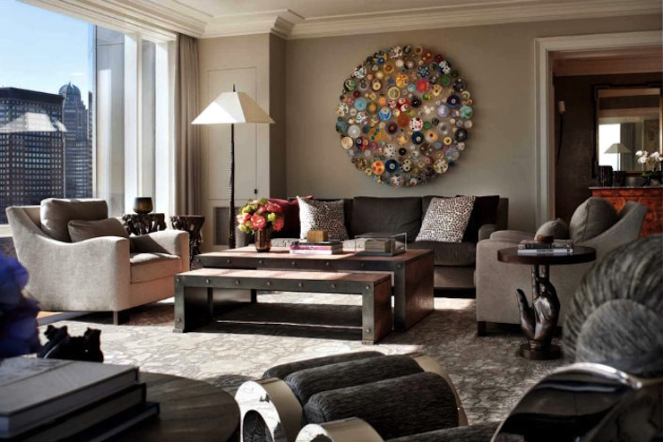6-dicas-para-adicionar-arte-na-decoracao-da-sua-sala-de-estar-2  6 dicas para dar um toque de arte à decoração da sua sala de estar 6 dicas para adicionar arte na decoracao da sua sala de estar 2