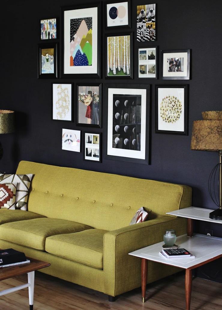 6-dicas-para-adicionar-arte-na-decoracao-da-sua-sala-de-estar-3  6 dicas para dar um toque de arte à decoração da sua sala de estar 6 dicas para adicionar arte na decoracao da sua sala de estar 3