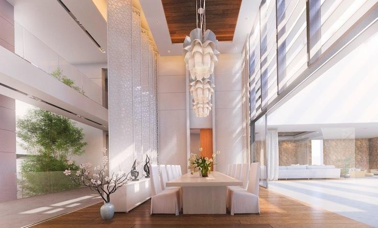 6-imperdivel-24-sugestoes-de-salas-de-jantar-modernas-vaulted-dining-ceilings  IMPERDÍVEL! Confira estas 24 sugestões de Salas de Jantar modernas 6 imperdivel 24 sugestoes de salas de jantar modernas vaulted dining ceilings