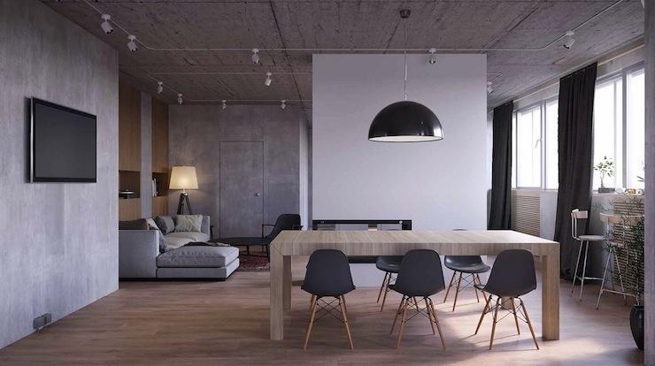 7-imperdivel-24-sugestoes-de-salas-de-jantar-modernas-grey-dining-room  IMPERDÍVEL! Confira estas 24 sugestões de Salas de Jantar modernas 7 imperdivel 24 sugestoes de salas de jantar modernas grey dining room