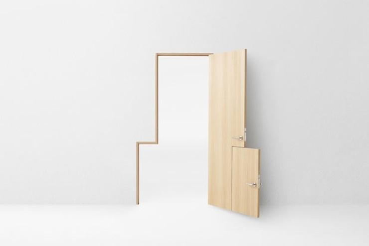 design-seven-doors-nendo-03  Studio Nendo transforma o uso tradicional das portas e revela funções inovadoras design seven doors nendo 03
