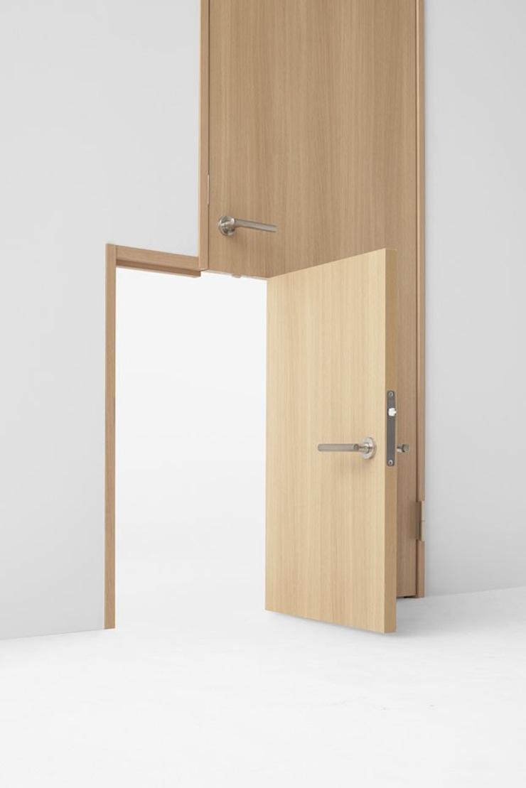 design-seven-doors-nendo-11  Studio Nendo transforma o uso tradicional das portas e revela funções inovadoras design seven doors nendo 11