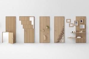Studio Nendo transforma o uso tradicional das portas e revela funções inovadoras