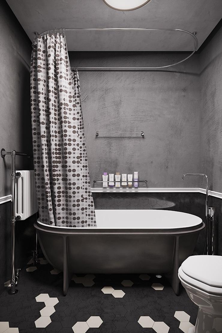 estilo-industrial-apartamento-com-decoracao-conceitual-denis-Krasikov-24  Estilo industrial: veja este apartamento com decoração conceitual estilo industrial apartamento com decoracao conceitual denis Krasikov 24