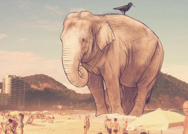 fotografias-ilustracoes-cidade-maravilhosa-rio-de-janeiro-continua-lindo-elefante-1024x730  Fotografias, Ilustrações e a Cidade Maravilhosa: o Rio de Janeiro continua lindo!  fotografias ilustracoes cidade maravilhosa rio de janeiro continua lindo elefante