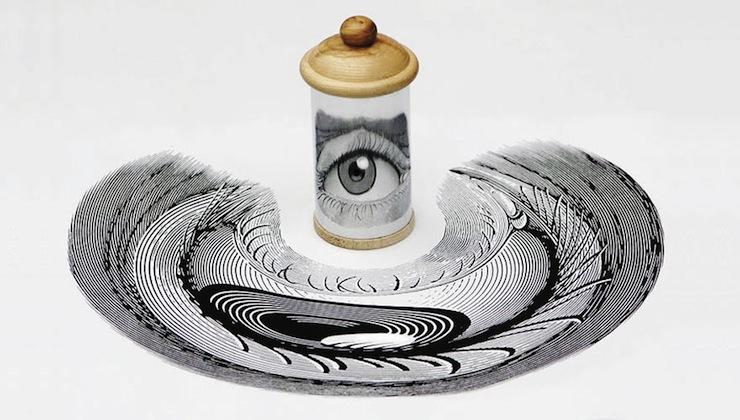 Ilusão de Ótica: Artista Cria Peças que Darão um Nó no Seu Cérebro Ilusão de Ótica Ilusão de Ótica: Artista Cria Peças que Darão um Nó no Seu Cérebro ilusao de otica artista cria pecas que darao um no no seu cerebro 2