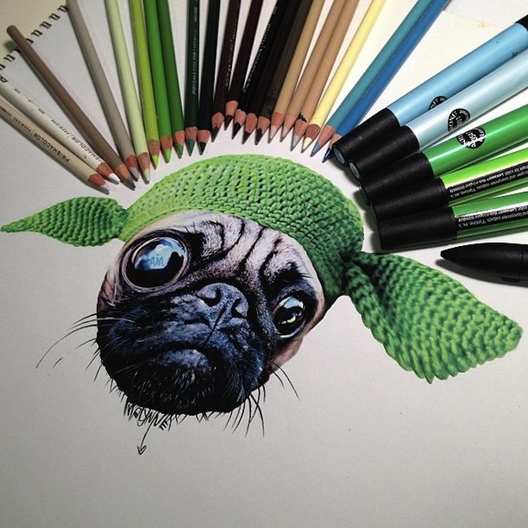 hiper-realismo-arte-com-lapis-de-cor-marcadores-e-tinta-1  Hiper-realismo: arte das boas com lápis de cor, marcadores e tinta hiper realismo arte com lapis de cor marcadores e tinta 1