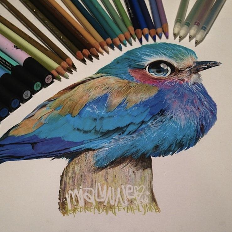 hiper-realismo-arte-com-lapis-de-cor-marcadores-e-tinta-14  Hiper-realismo: arte das boas com lápis de cor, marcadores e tinta hiper realismo arte com lapis de cor marcadores e tinta 14
