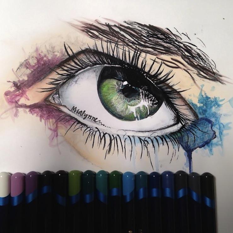 hiper-realismo-arte-com-lapis-de-cor-marcadores-e-tinta-2  Hiper-realismo: arte das boas com lápis de cor, marcadores e tinta hiper realismo arte com lapis de cor marcadores e tinta 2