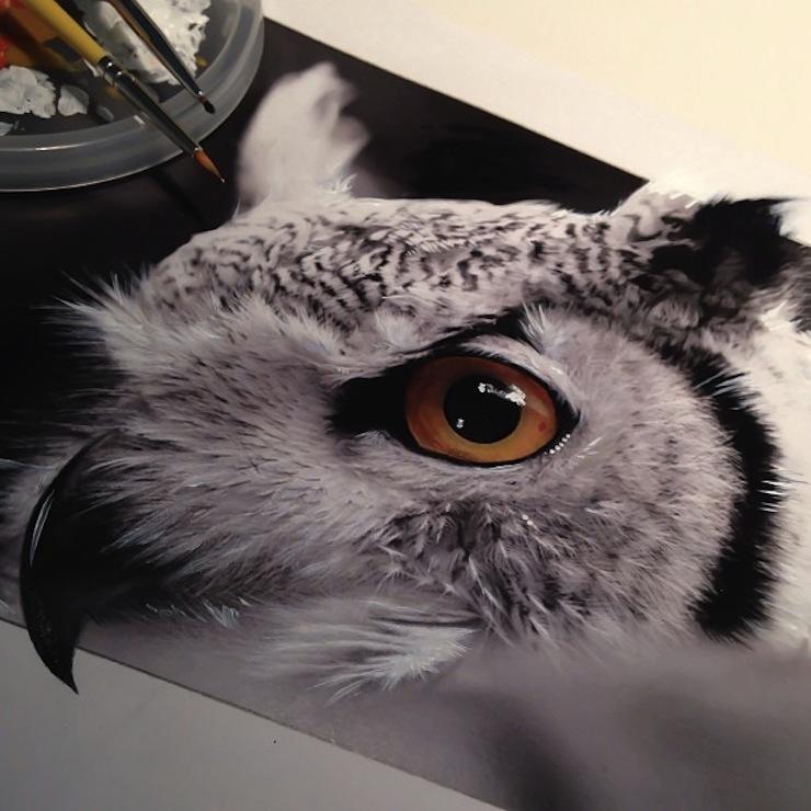 hiper-realismo-arte-com-lapis-de-cor-marcadores-e-tinta-8  Hiper-realismo: arte das boas com lápis de cor, marcadores e tinta hiper realismo arte com lapis de cor marcadores e tinta 8