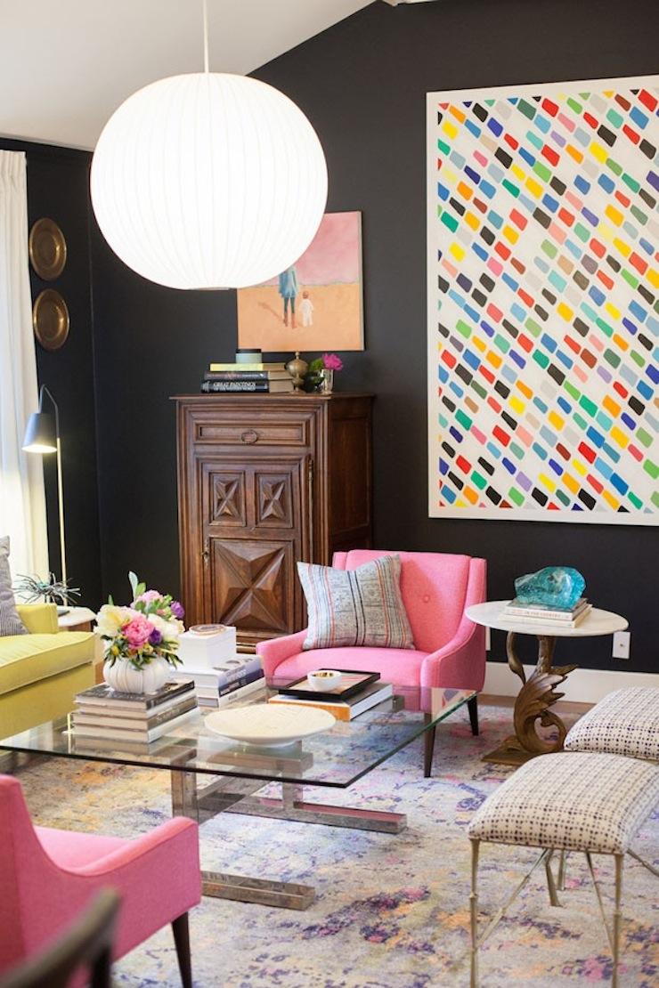 la-vie-en-rose-10-salas-decoradas-na-cor-rosa-rose-quartz  La vie en rose: veja 10 salas decoradas na cor rosa, de cima a baixo decor do dia 2015 09 11 01