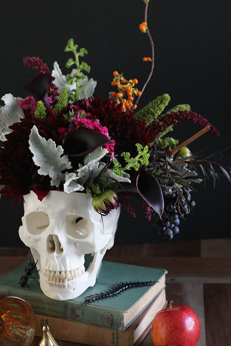 9-maneiras-de-usar-flores-na-sua-decoracao-de-halloween-1  9 Maneiras de usar flores na sua decoração de Halloween 9 maneiras de usar flores na sua decoracao de halloween 1